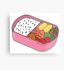 Bento Lunch Metal Print