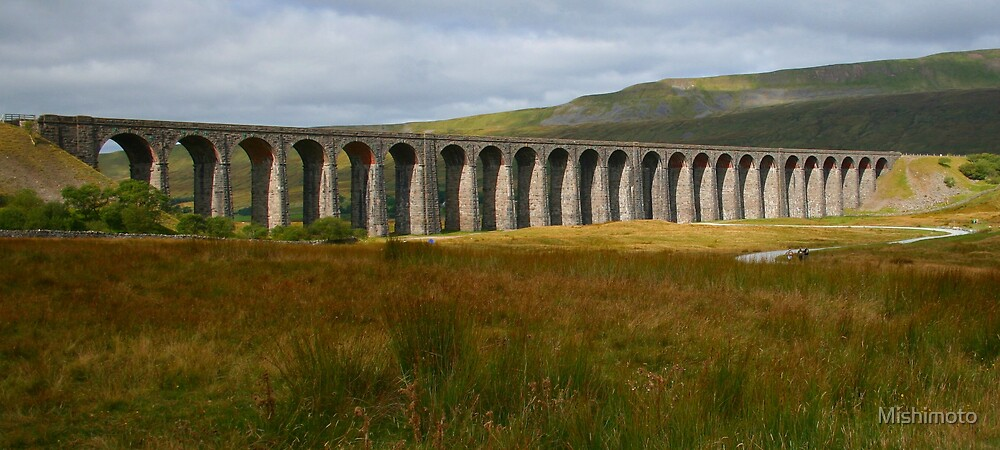 Ribblehead Viaduct, Yorkshire by Mishimoto