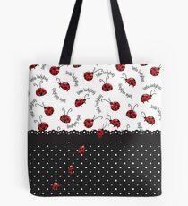 Ladybug Entwined Tote Bag