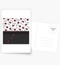 Ladybug Entwined Postcards