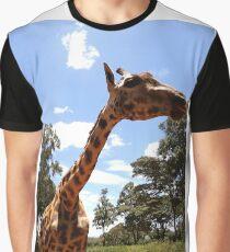 Giraffe getting personal 3 Graphic T-Shirt