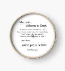 Kurt Vonnegut God Bless You Mr. Rosewater  Clock