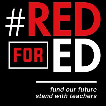 Red for Ed Shirt for Teachers, #RedForEd by BootsBoots