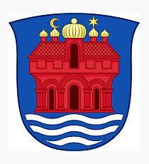 Coat of arms of Aalborg, Denmark Photographic Print