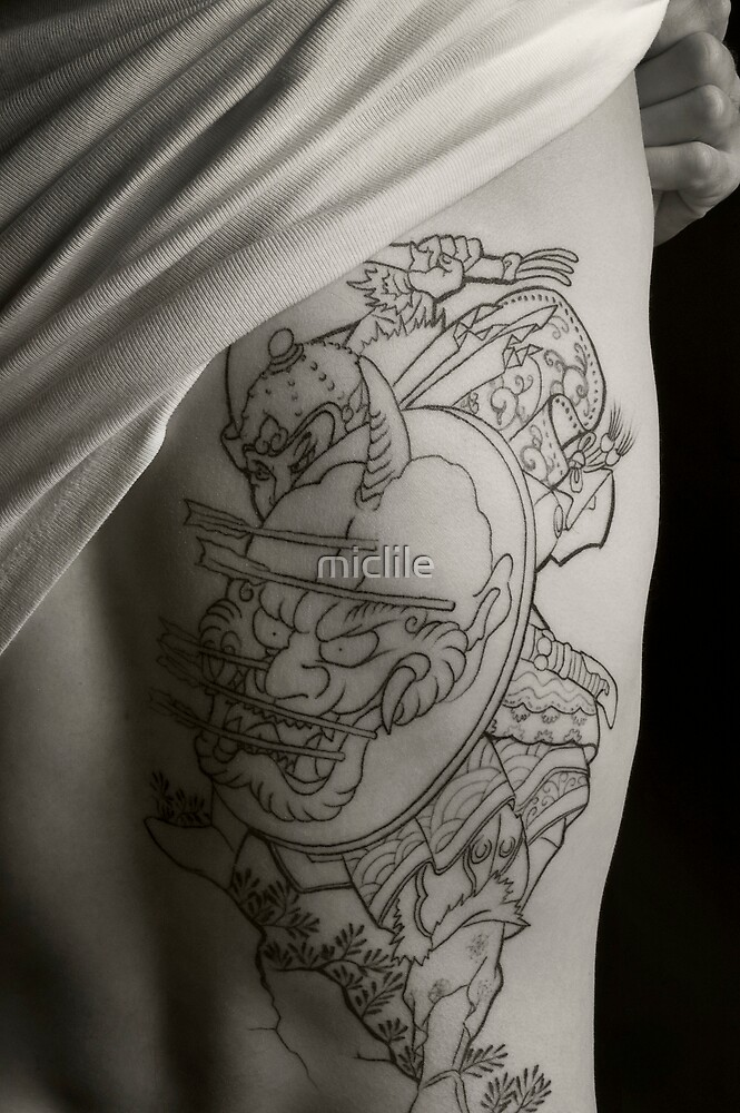 Tattoo Stage 1a by miclile