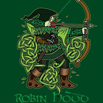 Robin Hood (Full Color Version) by celthammerclub
