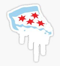 Chicago Deep Dish Pizza Sticker