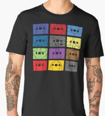 Something About My Cassettes Men's Premium T-Shirt