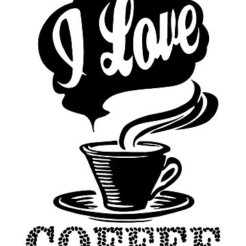 I love coffee by Saruk