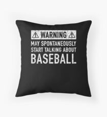Baseball Related Gift Floor Pillow