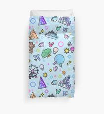 Meet me at my Happy Place Pattern Duvet Cover