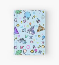 Meet me at my Happy Place Pattern Hardcover Journal
