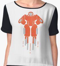 Robot. Toys for children. Robotics, technologies. Chiffon Top