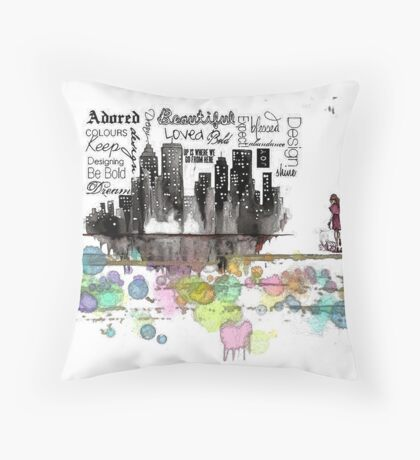 Adored Throw Pillow