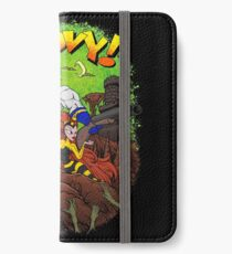 Earthworm Jim vs The Army of Darkness! iPhone Wallet/Case/Skin
