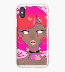Strawberry soda iPhone Case