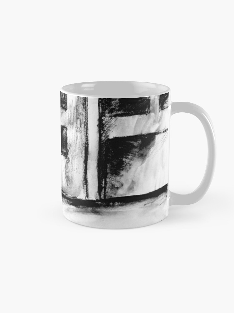 Alternate view of Empty street Mug