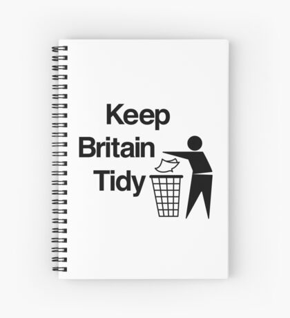 NDVH Keep Britain Tidy Spiral Notebook