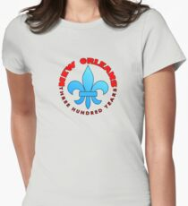 New Orleans tricentenary Women's Fitted T-Shirt
