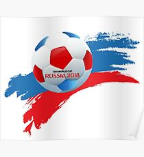 Russia 2018  Poster