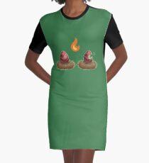 Dragon eggs Graphic T-Shirt Dress