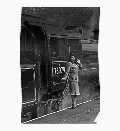 East Lancashire Railway, Rawtenstall Poster