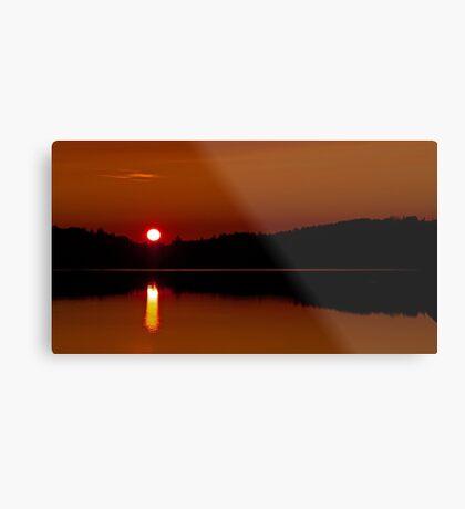 Algonquin Park - Brewer Lake Sunset Metal Print