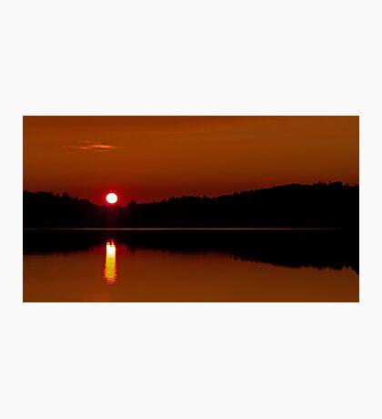 Algonquin Park - Brewer Lake Sunset Photographic Print