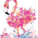 Splat Flamingo by TraciVanWagoner