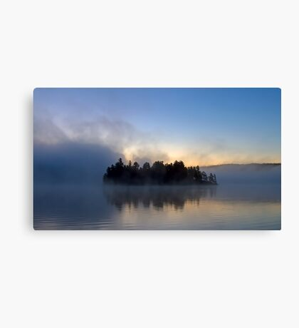 Algonquin Park - Lake of Two Rivers Canvas Print