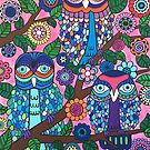 3 Owls by Beth Ann  Scott