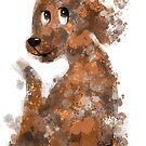 Splat Puppy Dog by TraciVanWagoner