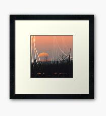 Depletion 01 Framed Print