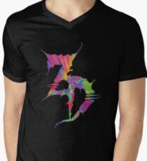 Zeds tot T-Shirt mit V-Ausschnitt für Männer