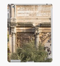 Arch of Septimius Severus with the Roman Forum iPad Case/Skin