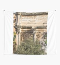 Arch of Septimius Severus with the Roman Forum Wall Tapestry