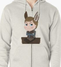 Arthur Pendragon - The Once and Future... Donkey Zipped Hoodie