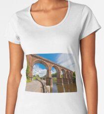 Huge train bridge in France Women's Premium T-Shirt
