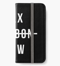TAX CARBON NOW (BlackEdition) iPhone Wallet/Case/Skin