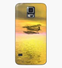 Seaplane Flight at Sunset Case/Skin for Samsung Galaxy