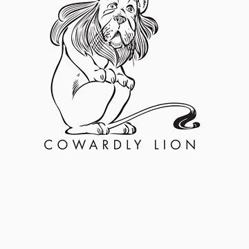 The Wonderful Wizard of OZ - Cowardly Lion by DavidTribby