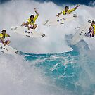 Andy Irons Boosting at Backdoor by David Orias