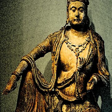 Avalokiteshvara Bodhisattva  2 - Design 2 by DharmaDog215