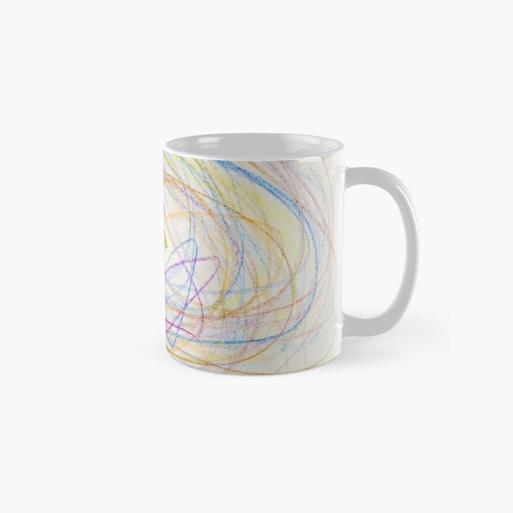 Child's Abstract Crayon Drawing Standard Mug