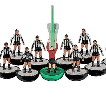 St Mirren subbuteo football team design by vancey73