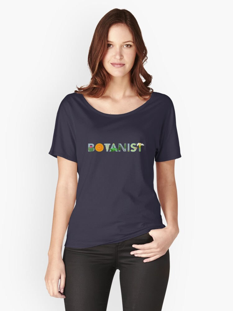Botanist Women's Relaxed Fit T-Shirt Front