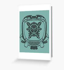 Canti Mandala Greeting Card