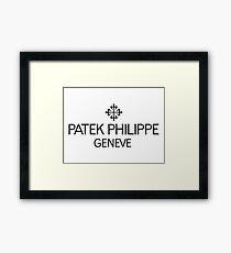 Patek Philippe & Co. Logo Framed Print