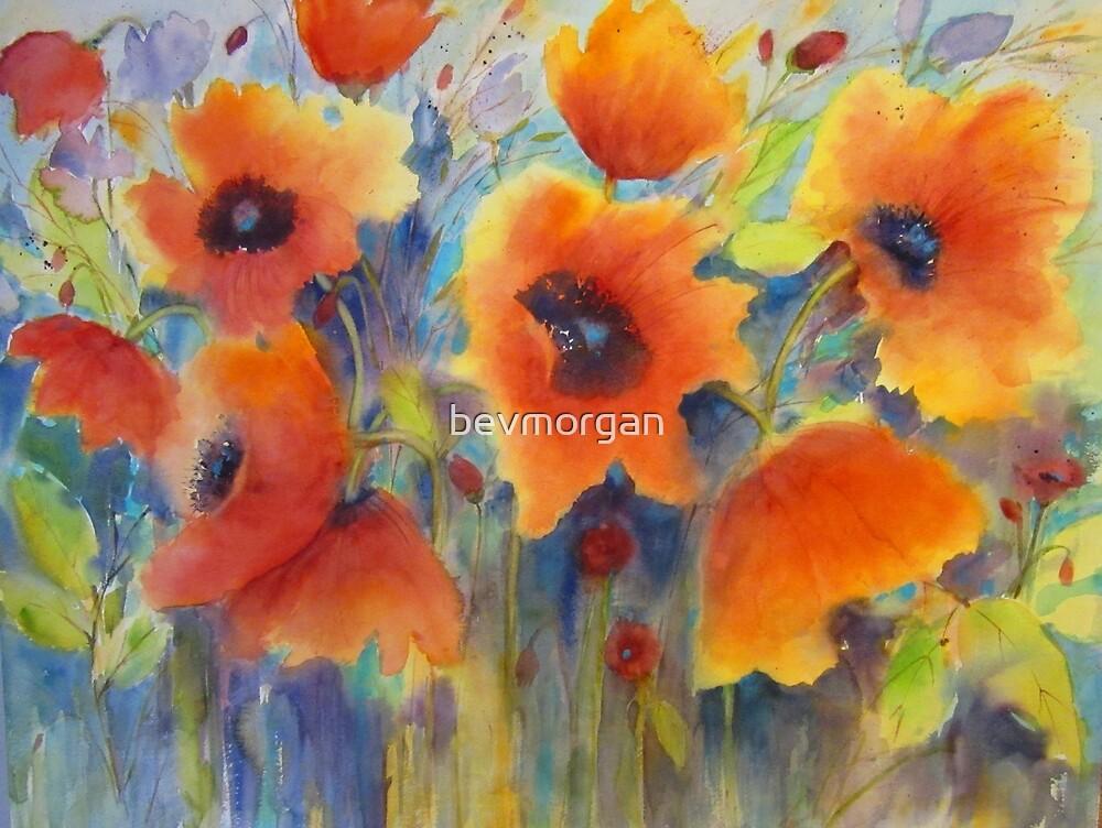 Für die Liebe von Mohnblumen von bevmorgan