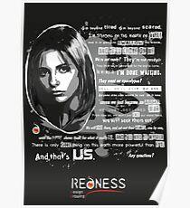 Buffy speech Poster